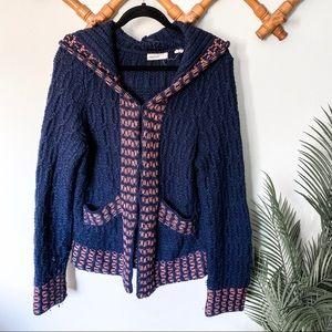 Anthropologie | Sleep on Snow Wool Knit Cardigan